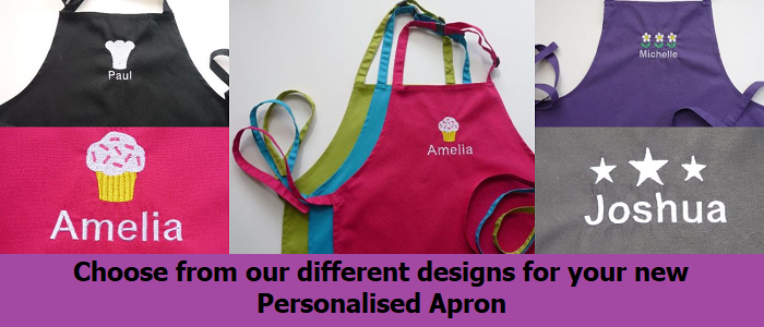 Personalised Apron Slider