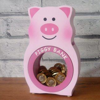 Personalised Pig Money Box